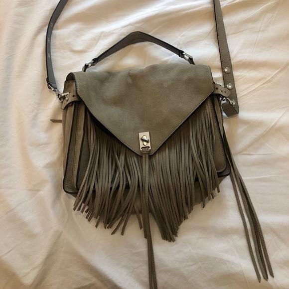 Rebecca Minkoff Handbags - Rebecca Minkoff fringe crossbody messenger bag